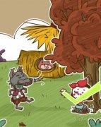 是什么洪荒之力使得大灰狼吹倒了茅草屋,史小坑的烦恼5第44关攻略!