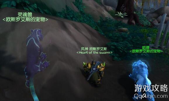 魔兽世界7.0猎人秘刃豹灵魂兽坐标位置
