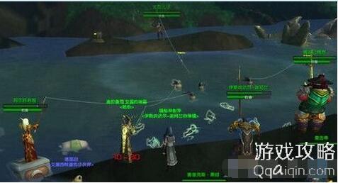 魔兽世界7.0黑暗神殿之战传送门在哪 惹错了对象的任务怪位置图片