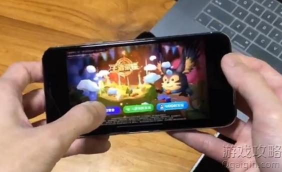iPhonex玩王者荣耀为什么是小屏怎么变成全屏?