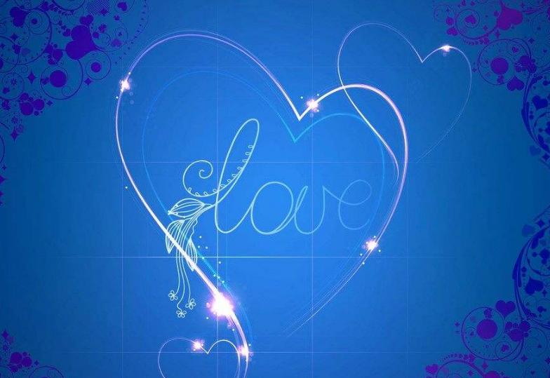 蓝天白云心形照片,心形图片,两个桃心的图片,粉色心形
