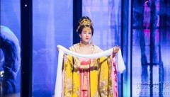 马苏扮杨贵妃图片,马苏在节目中扮演杨贵妃照片!