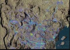 绝地求生沙漠地图改动后资源分布图文解析?