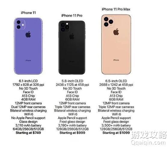 iPhone 11配置图片曝光 5G网络是否支持?