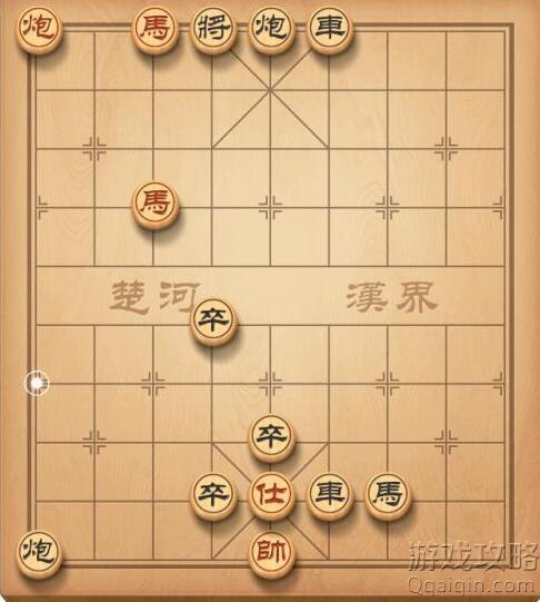 天天象棋残局挑战222关攻略介绍