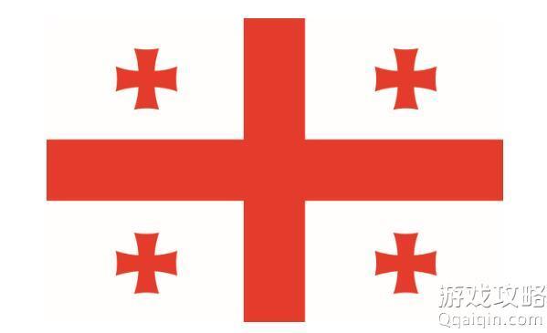 5个红色加号是哪国国旗?