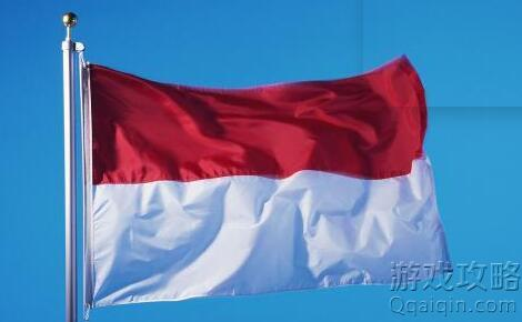上红下白是哪个国家国旗?