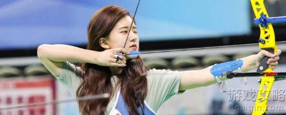 赵露思是射箭运动员吗?