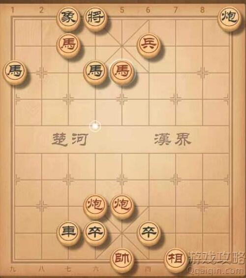 天天象棋残局挑战244期怎么过?